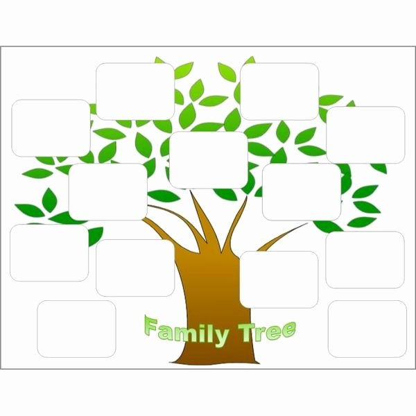Editable Family Tree Template Lovely Free Editable Family Tree Template