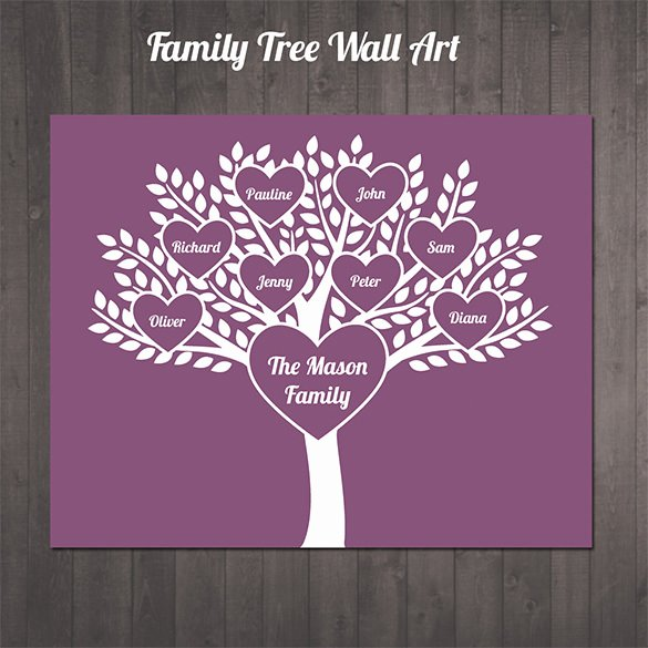 Editable Family Tree Template New 11 Popular Editable Family Tree Templates & Designs