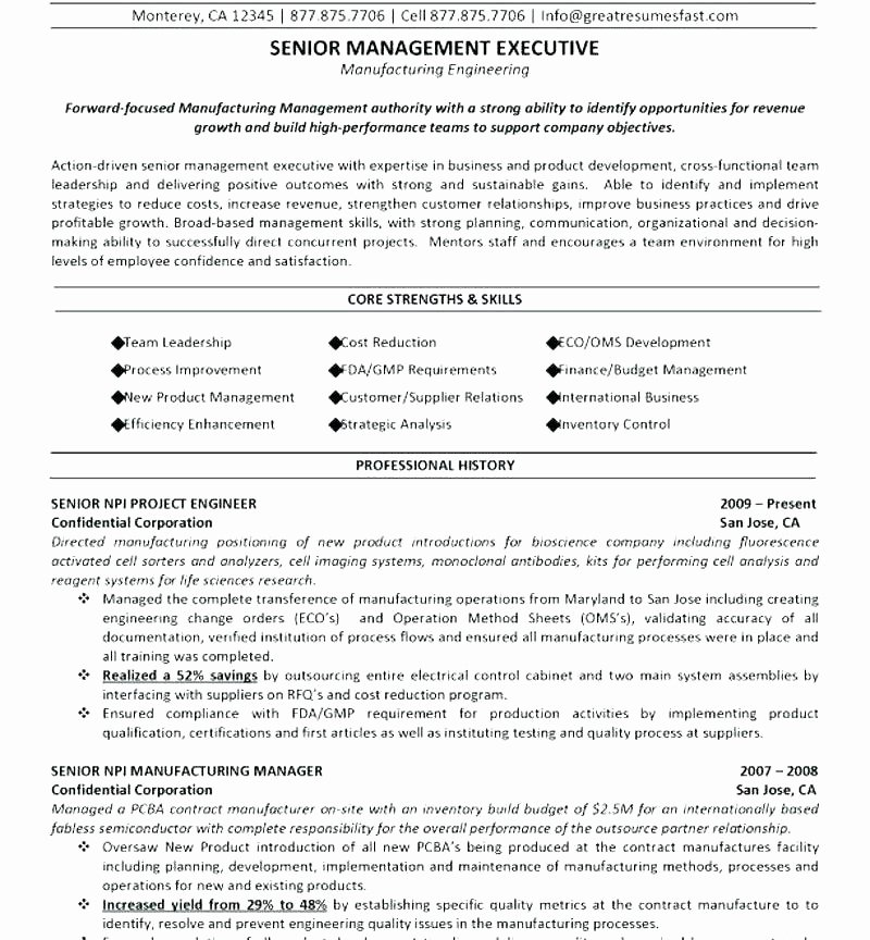 Electrical Engineer Resume Sample Best Of 9 10 Sample Resume for Electrical Engineer
