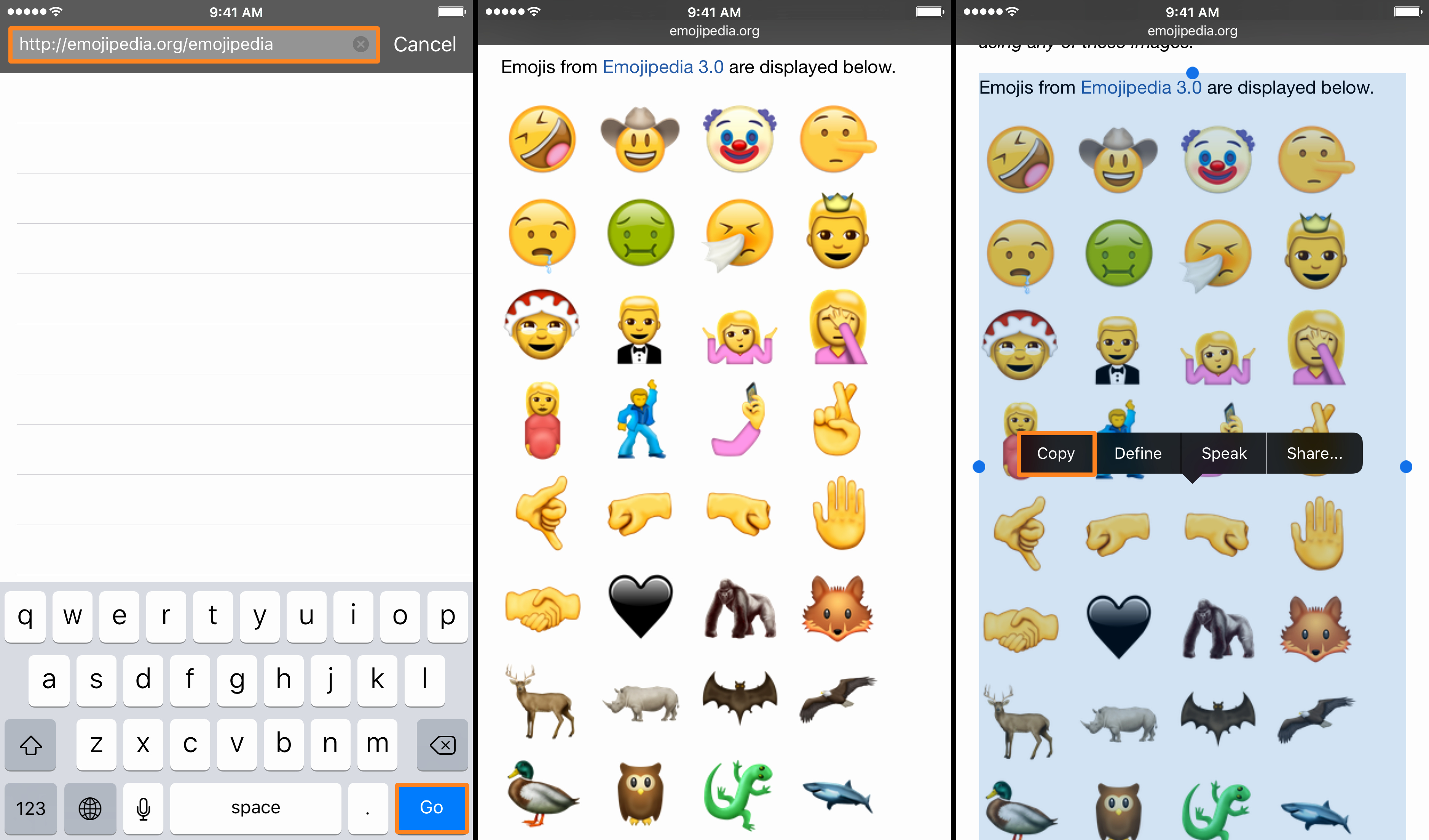 Emoji Pictures Copy and Paste Best Of Enjoy the New Unicode 9 0 Emojis On Ios Right now with A