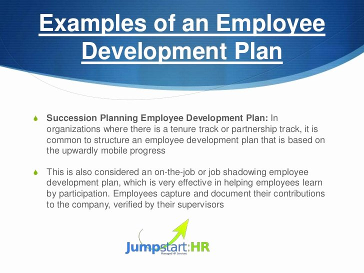 Employee Development Plan Examples Fresh How to Develop An Employee Development Plan