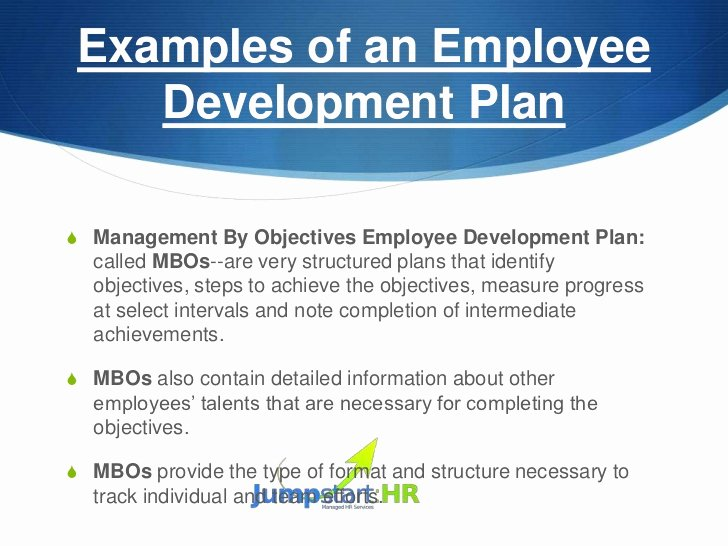 Employee Development Plan Examples Unique How to Develop An Employee Development Plan