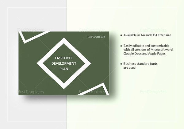 Employee Development Plans Templates Awesome 7 Best Employee Development Plan Templates Word Pdf