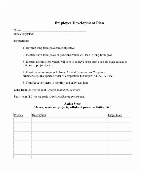 Employee Development Plans Templates Luxury 10 Development Plan Samples & Templates Pdf Docs