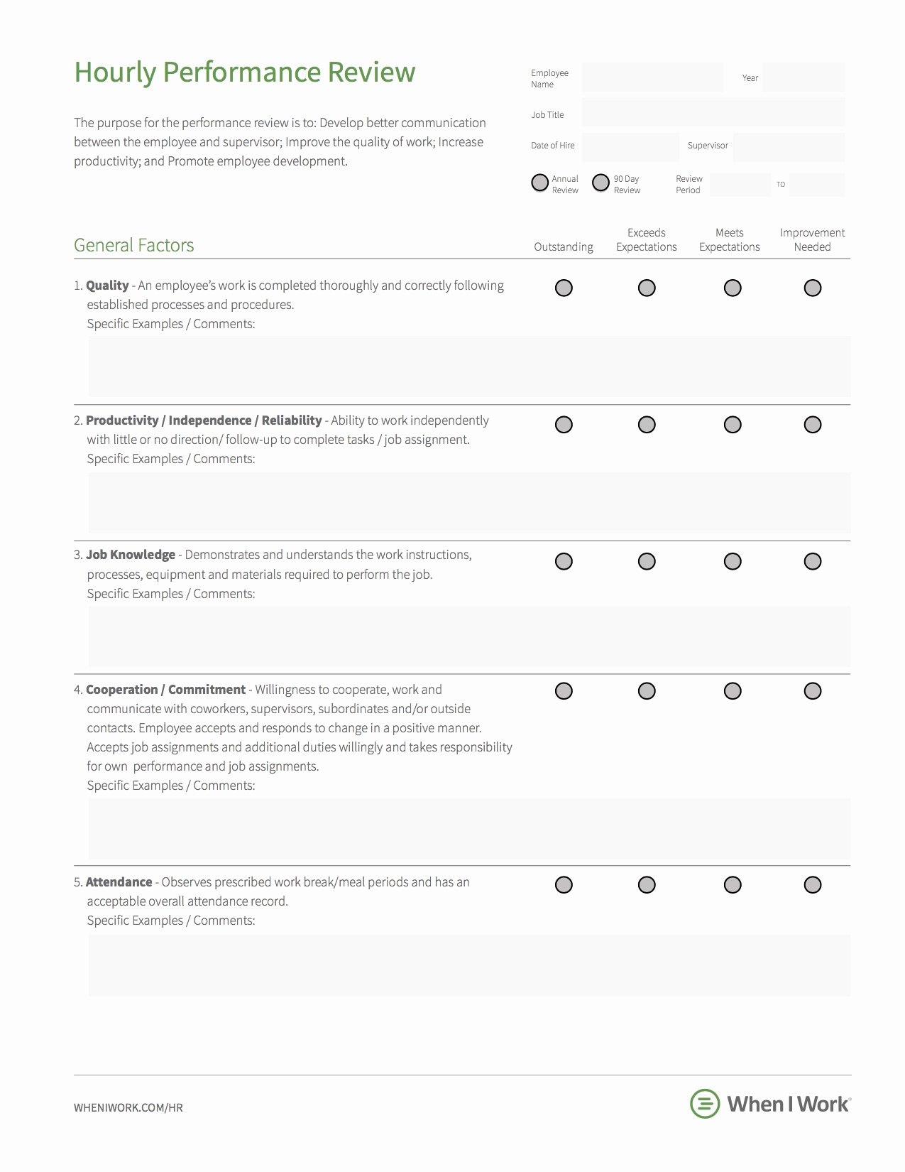 Employee Performance Evaluation Template Fresh 8 Best Practices for Building An Effective Employee