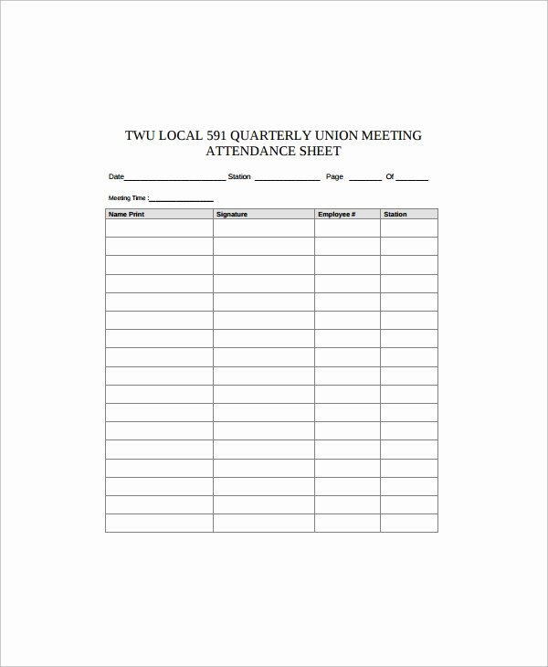 Employee Sign In Sheets Elegant Sample Employee Sign In Sheet 17 Free Documents
