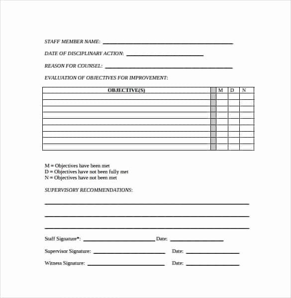 Employee Write Up Templates Elegant Employee Write Up forms Find Word Templates