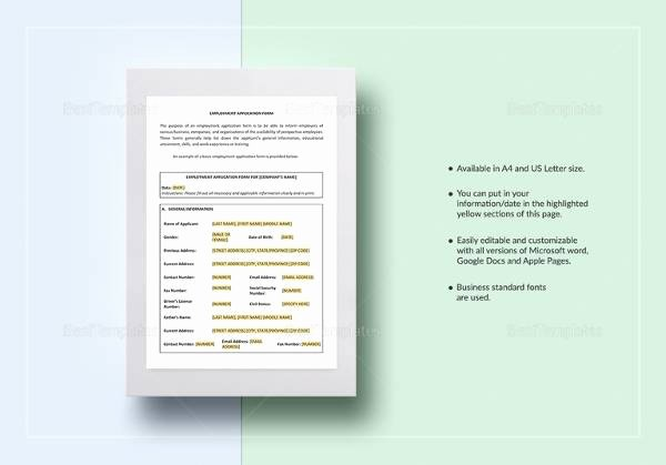 Employment Contract Template Word Awesome 23 Sample Employment Contract Templates Docs Word