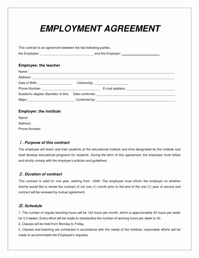 Employment Contract Template Word Unique Locum Pharmacist Contract Template Templates Resume