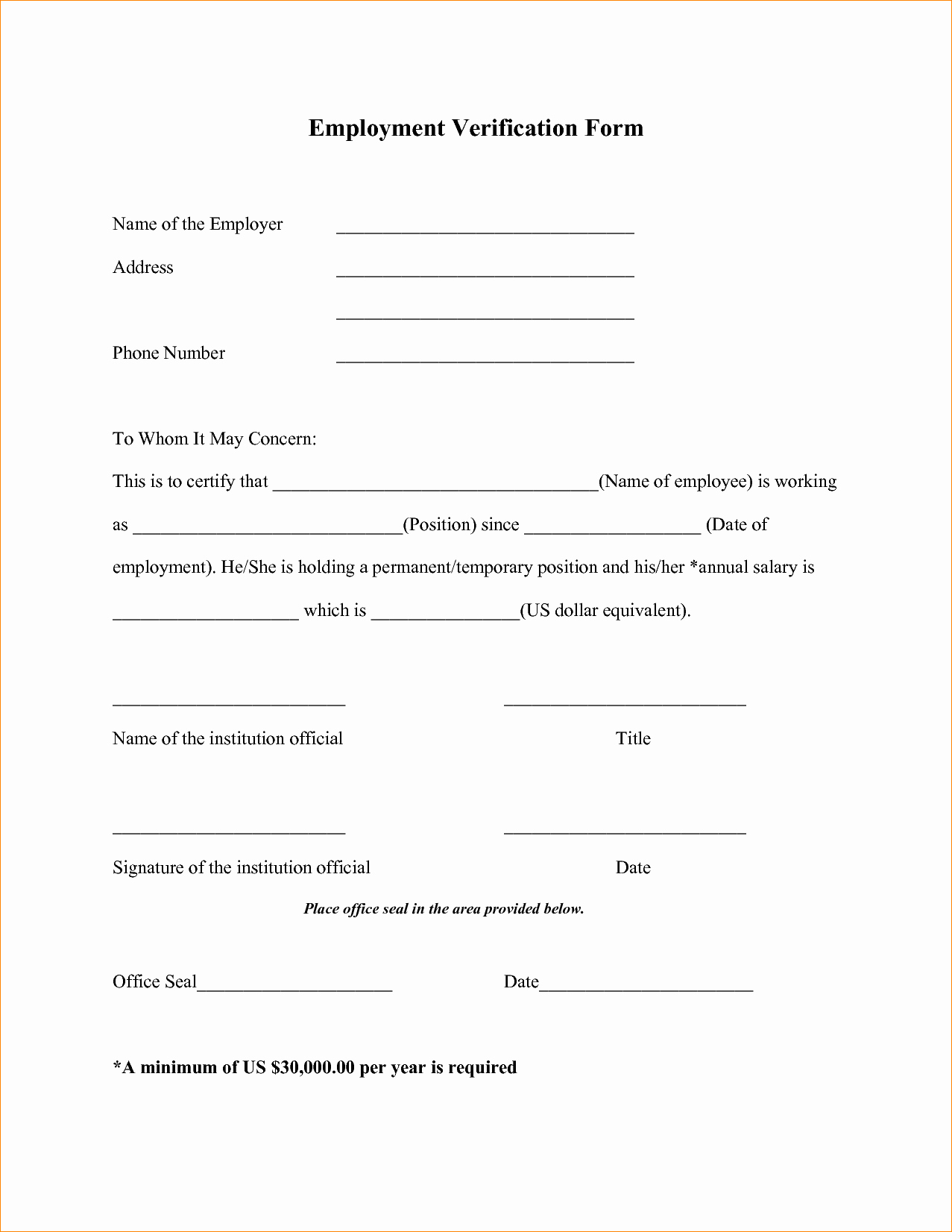 Employment Verification form Template Awesome asic Verification Resume Teachersites Web Fc2