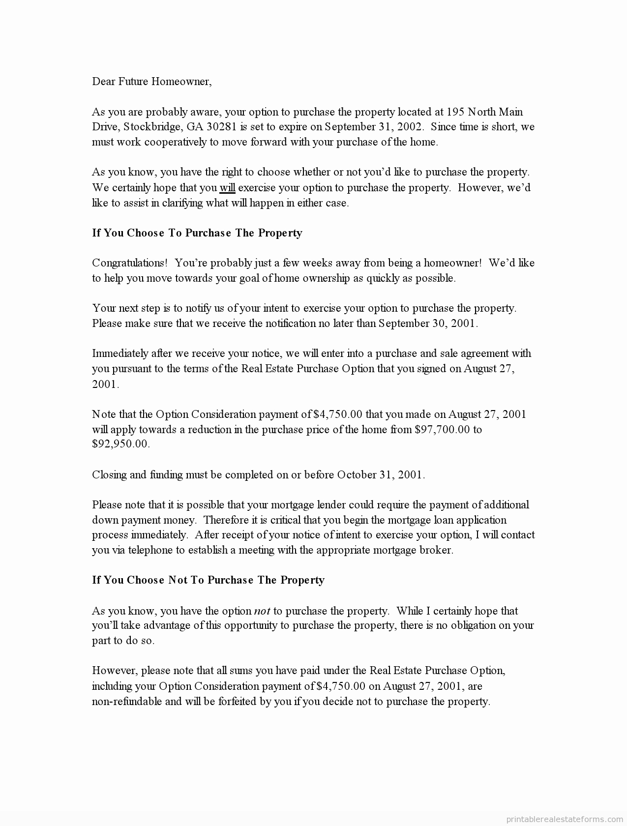 End Of Lease Letter Best Of Free Printable End Lease Letter form Pdf & Word