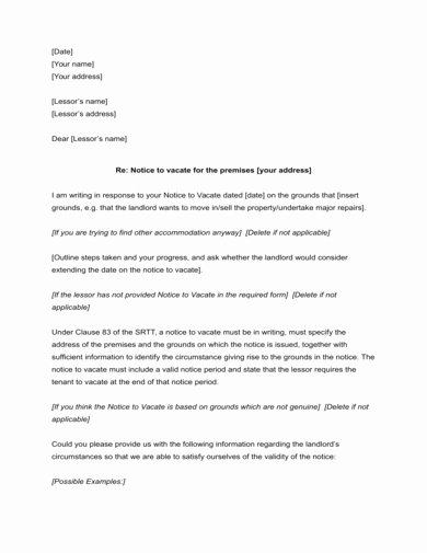 End Of Lease Letter New 9 End Of Lease Letter to Tenant Examples & Templates