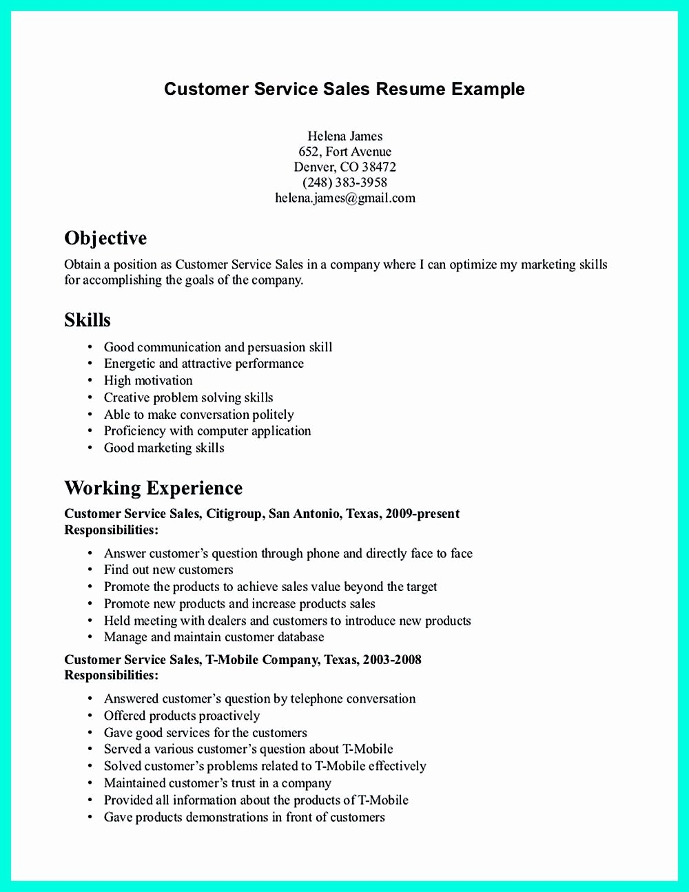 Entry Level Customer Service Resume Fresh Pin On Resume Sample Template and format