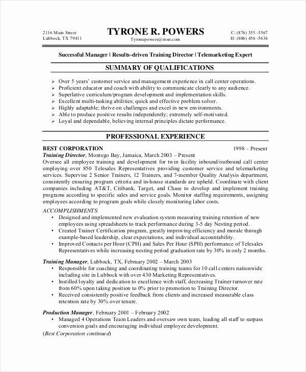 Entry Level Customer Service Resume New 10 Customer Service Resume Templates Pdf Doc
