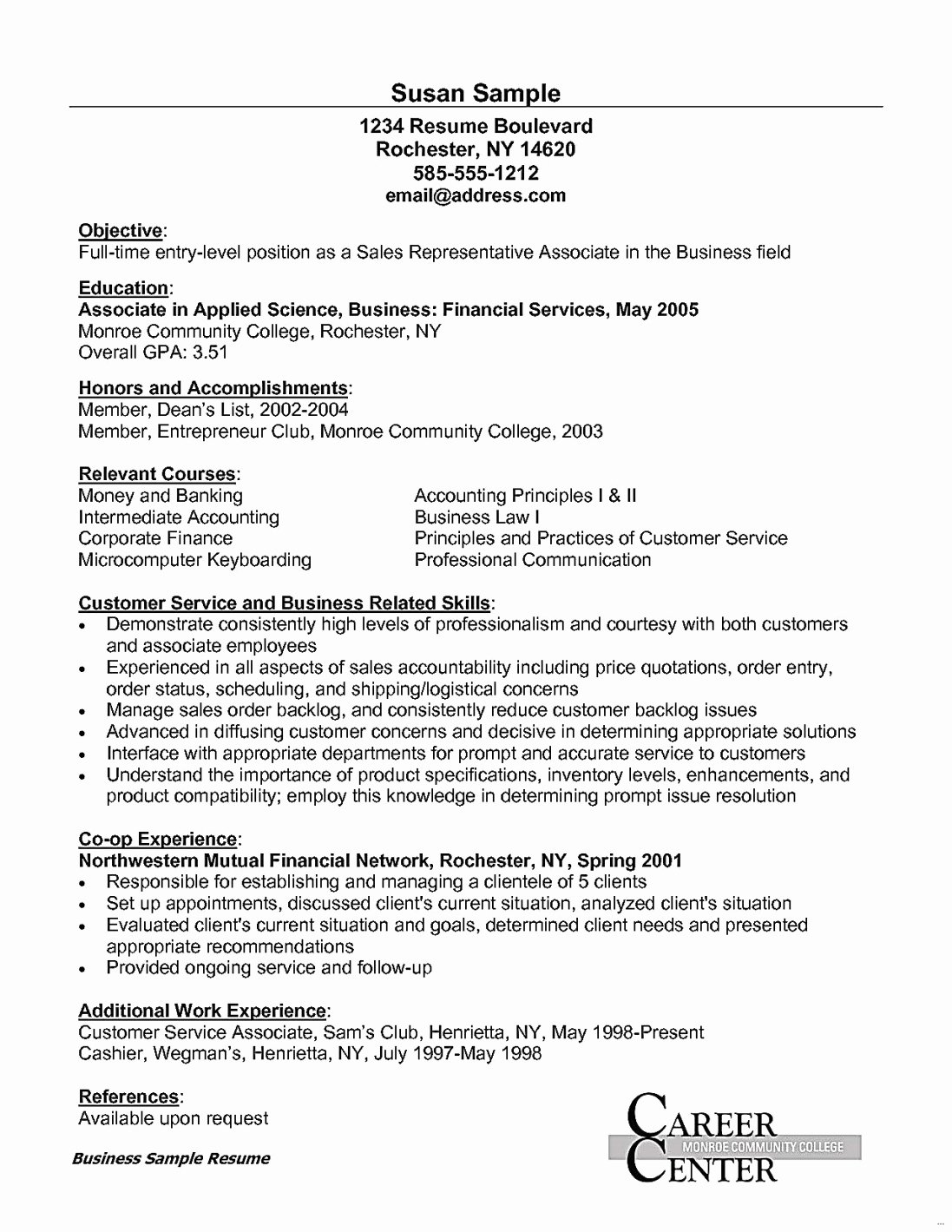 Entry Level Customer Service Resume New Customer Service Resume Ac Plishments