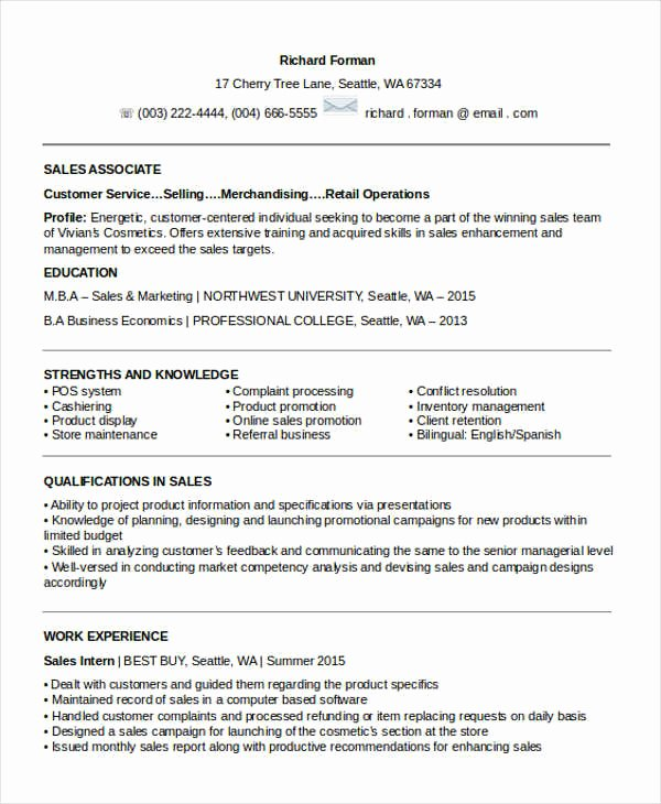 Entry Level Sales Resume Awesome 20 Sales Resume Samples Pdf Doc