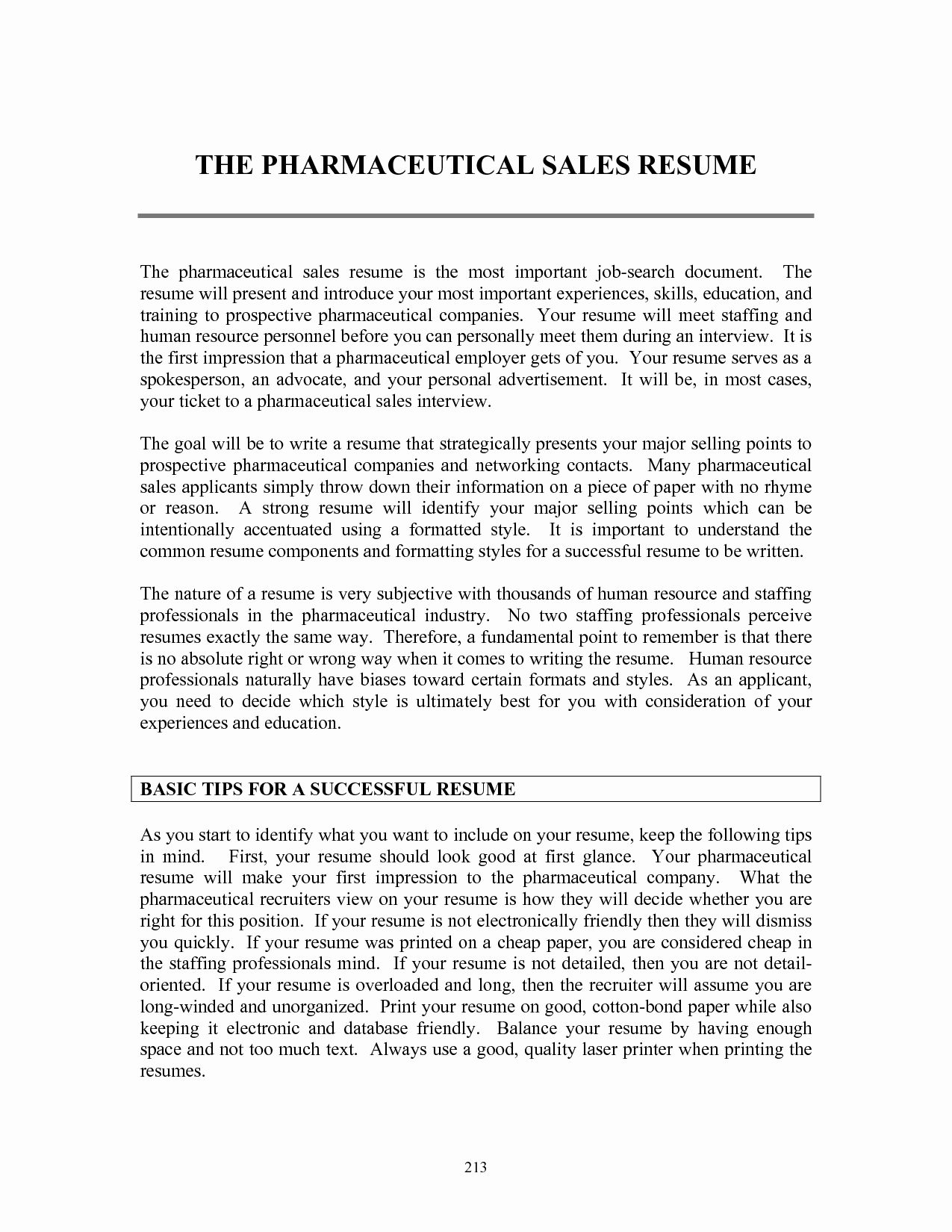 Entry Level Sales Resume Elegant Resume Templates Pharmaceutical Sales Resume Templates