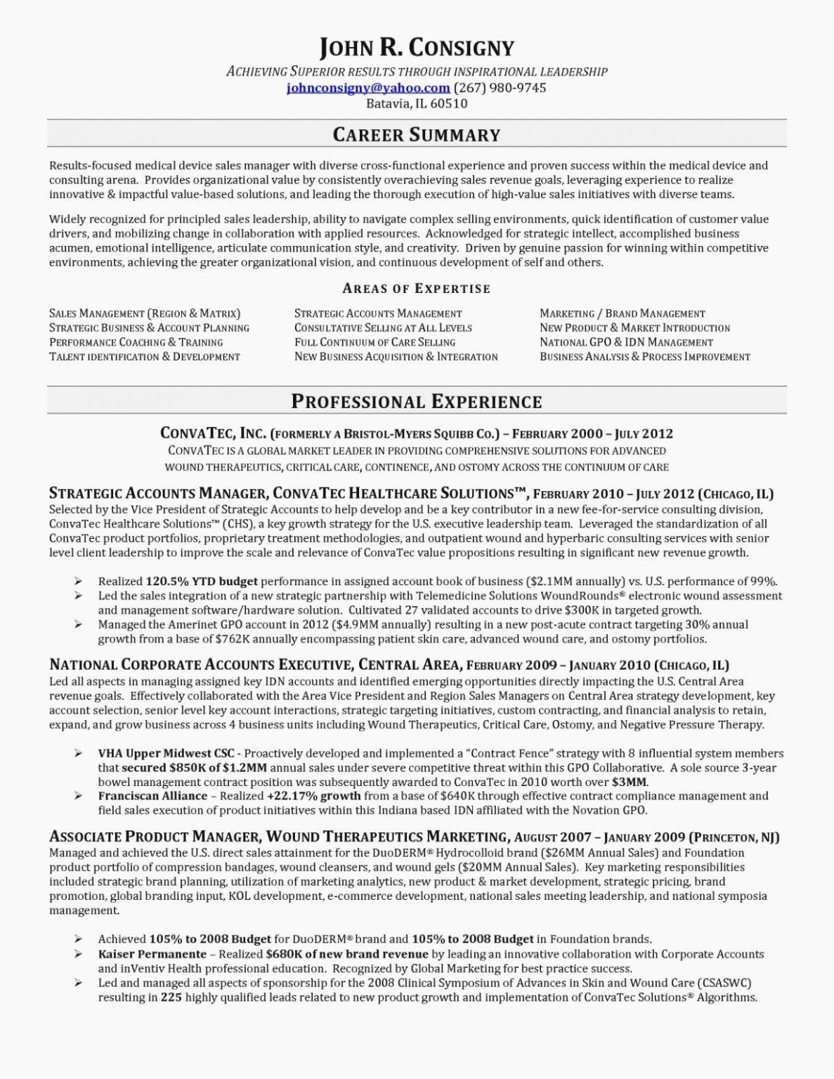 Entry Level Sales Resume Fresh Ten Things You Probably