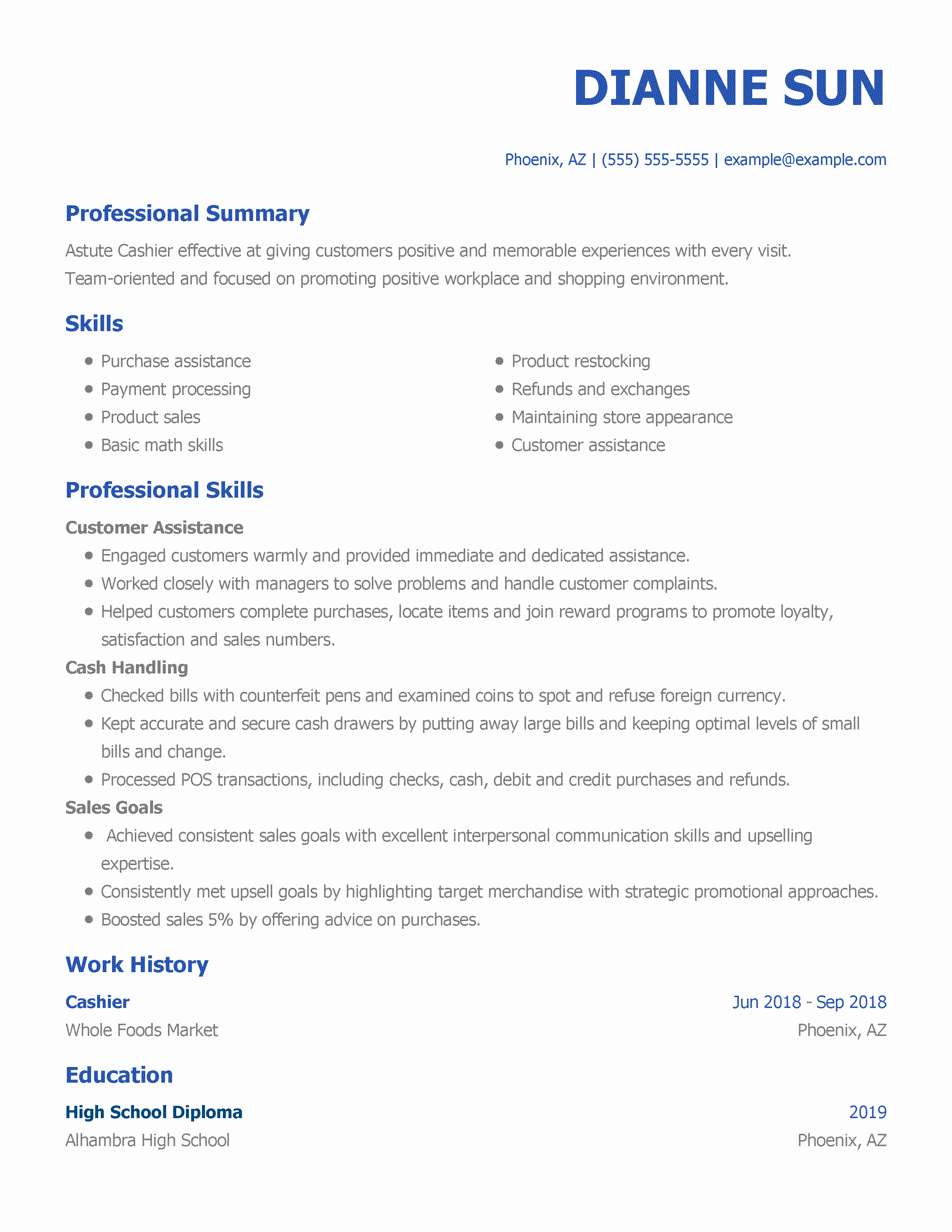 Entry Level Sales Resume Lovely Sales associate Resume Examples Created by Pros