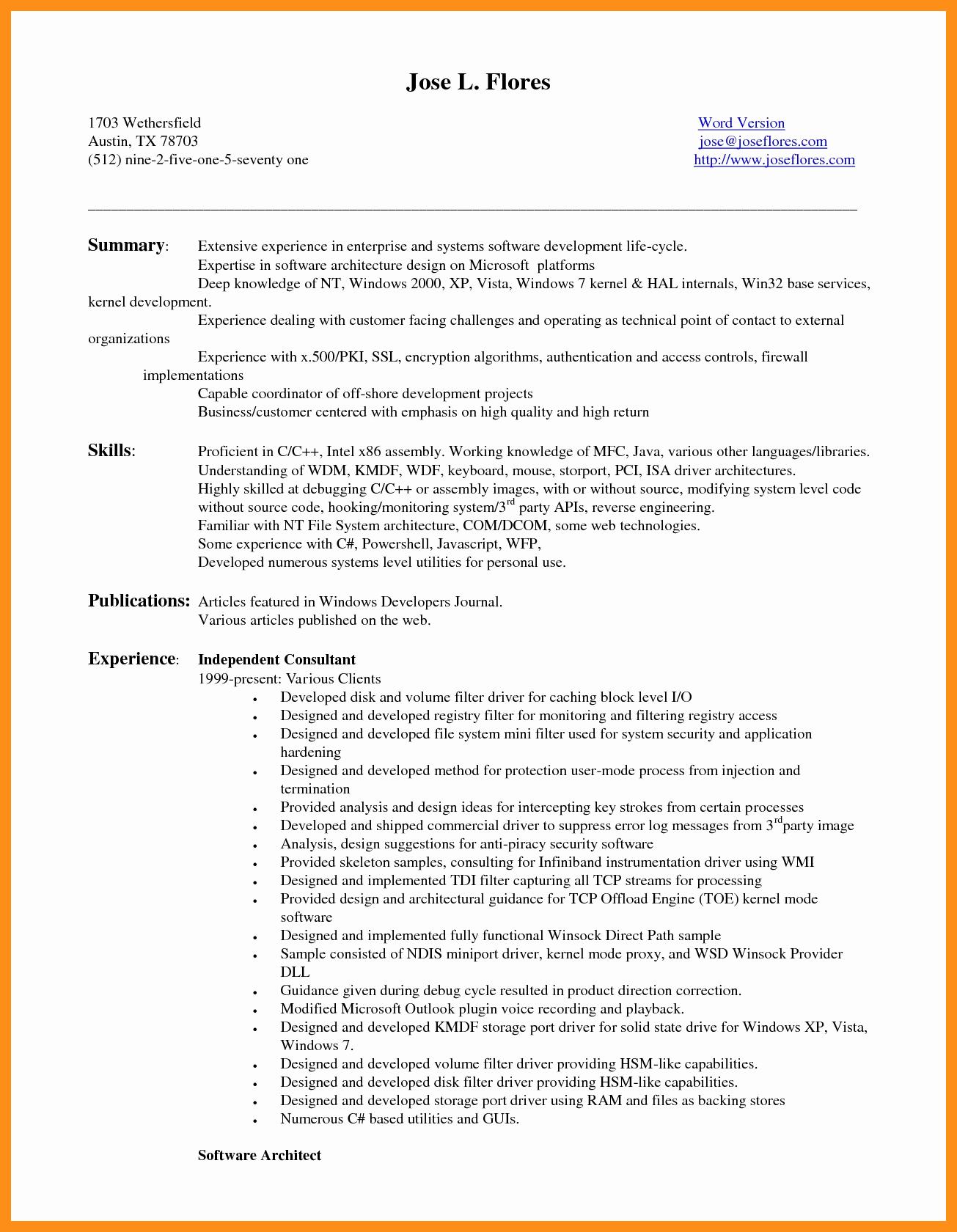 Entry Level Web Developer Resume Awesome 9 10 Entry Level Net Developer Resume