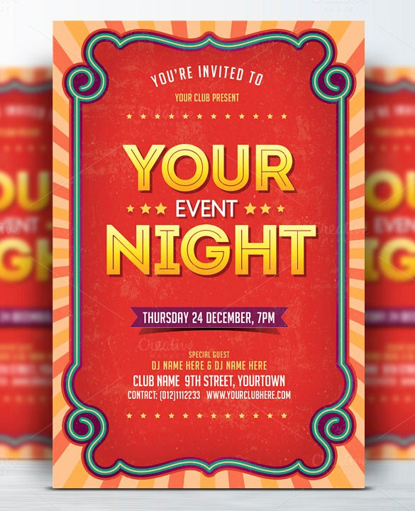Event Flyer Template Word Luxury 49 event Flyer Templates Psd Ai Word Eps Vector