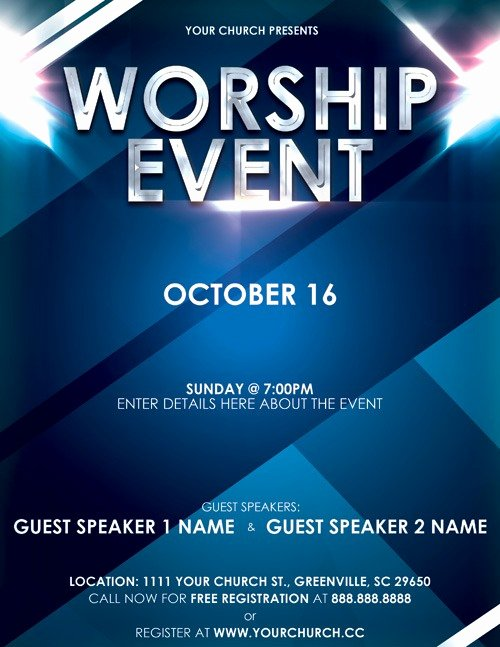 Event Flyer Templates Free Awesome event Flyer Templates Free