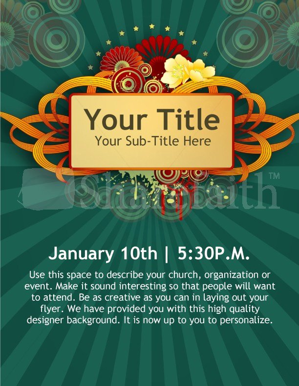 Event Flyer Templates Free Unique New Year Church event Flyer Templates Template