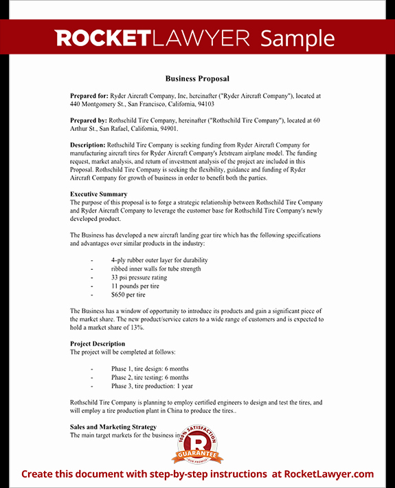 Examples Of Business Proposals Awesome Business Proposal Template Free Business Proposal Sample