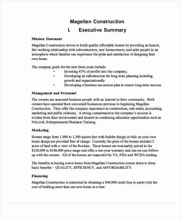 Examples Of Business Proposals Unique Sample Business Proposal
