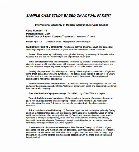 Examples Of Case Studies Beautiful 13 Case Study Templates Pdf Docs Word