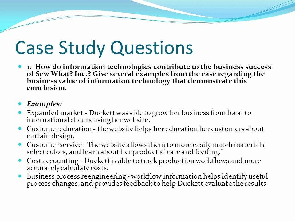 Examples Of Case Studies Beautiful Case Study Examples In Business