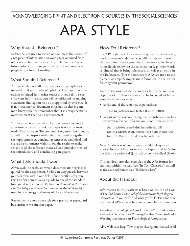 Examples Of Case Studies Luxury Apa Style