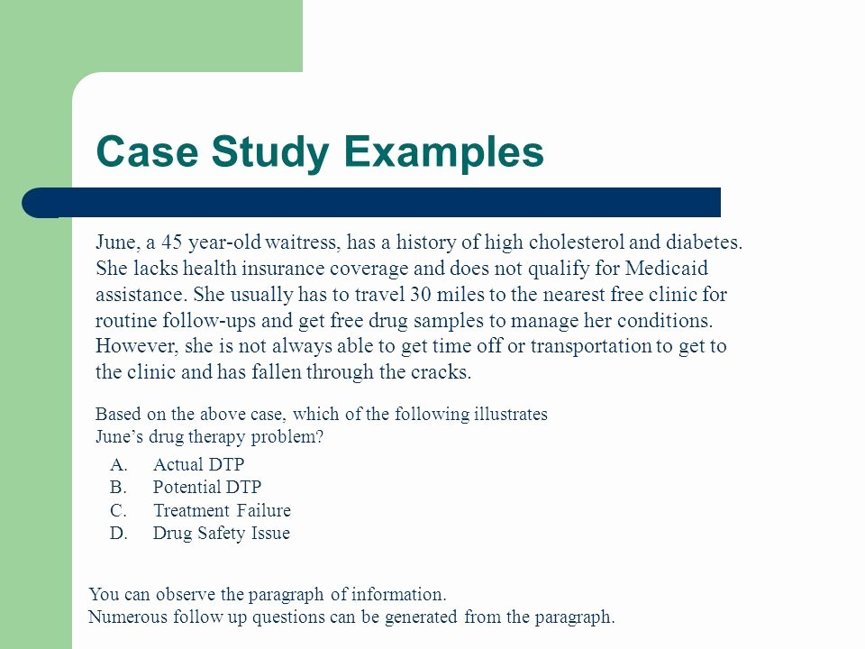 Examples Of Case Studies Luxury Case Study for Diabetic Patient