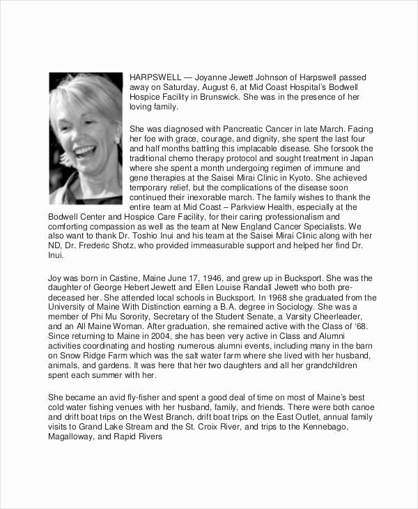 Examples Of Obituaries Well Written Awesome Obituary Examples to Pin On Pinterest Pinsdaddy