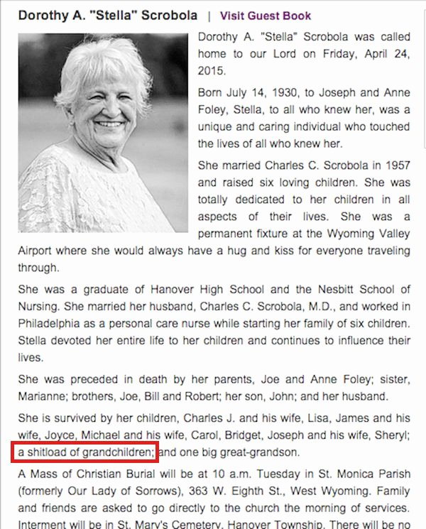 Examples Of Obituaries Well Written Fresh Obituaries and Death Notices