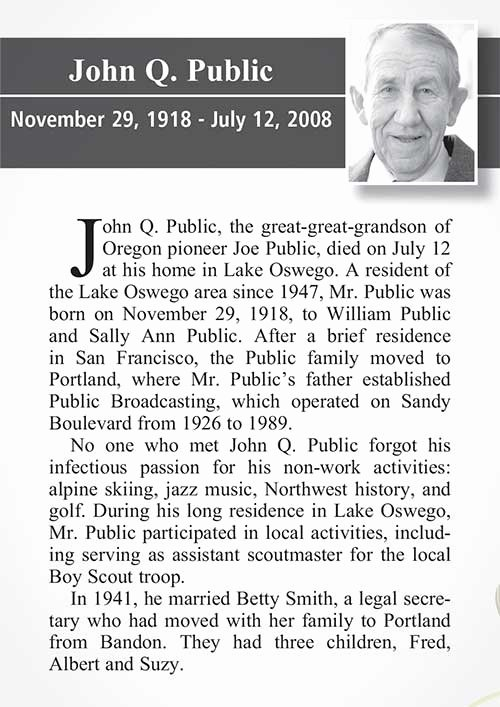 Examples Of Obituaries Well Written Luxury Home [publicationsgnews]