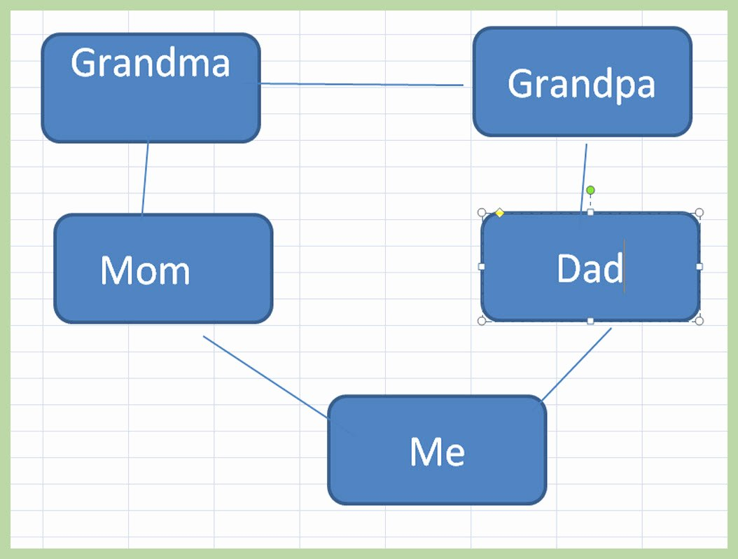 Excel Family Tree Template Inspirational 3 Ways to Make A Family Tree On Excel Wikihow