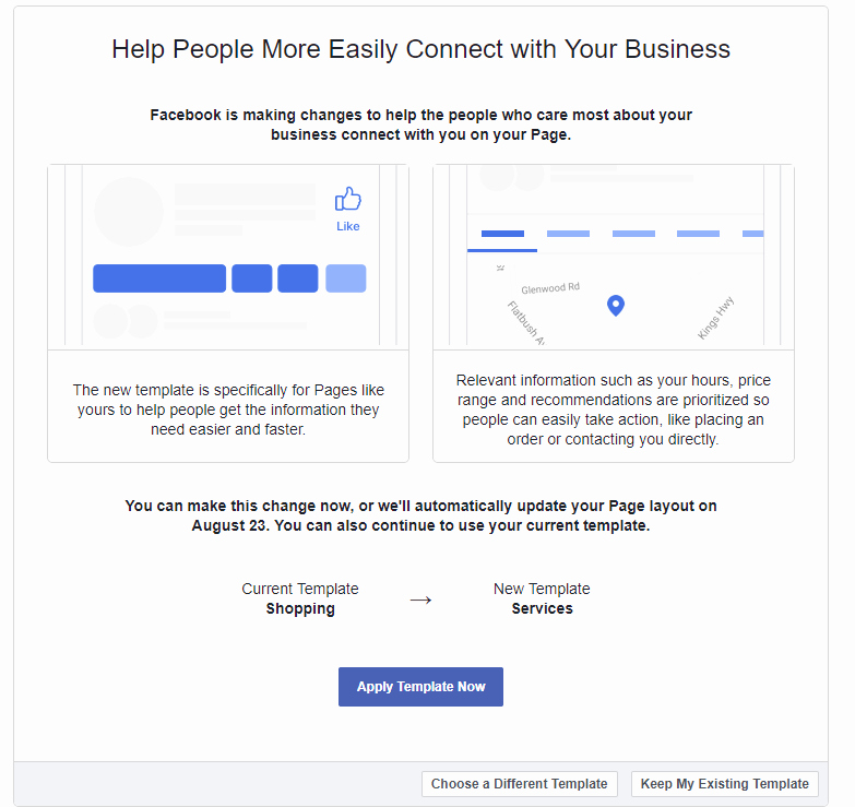 Facebook Business Page Template Beautiful Redesigns Business Pages Introduces New