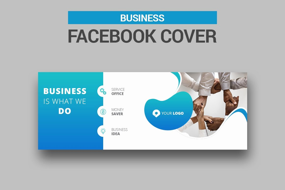 Facebook Business Page Template Luxury Business Cover Templates Creative Market