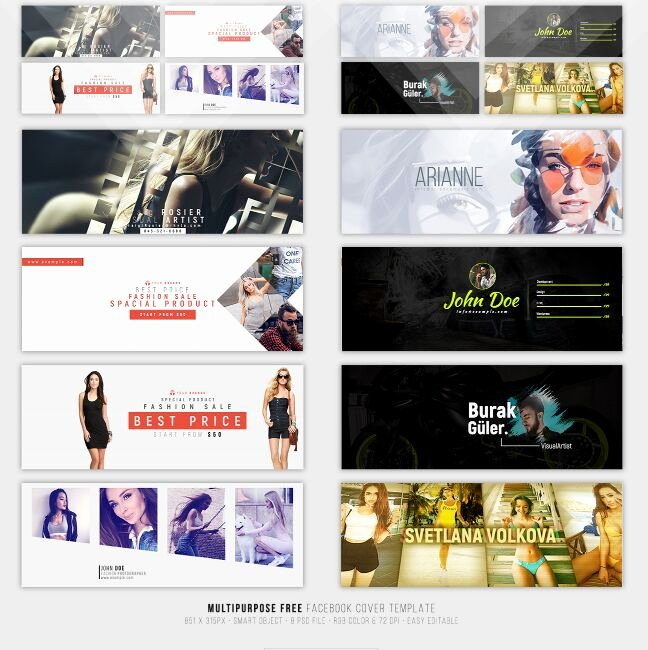 Facebook Cover Photo Template Psd Lovely 15 Best Free Cover Shop Templates for 2018