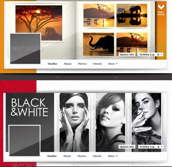 Facebook Cover Photo Template Psd New 25 Collage Templates Psd Vector Eps Ai