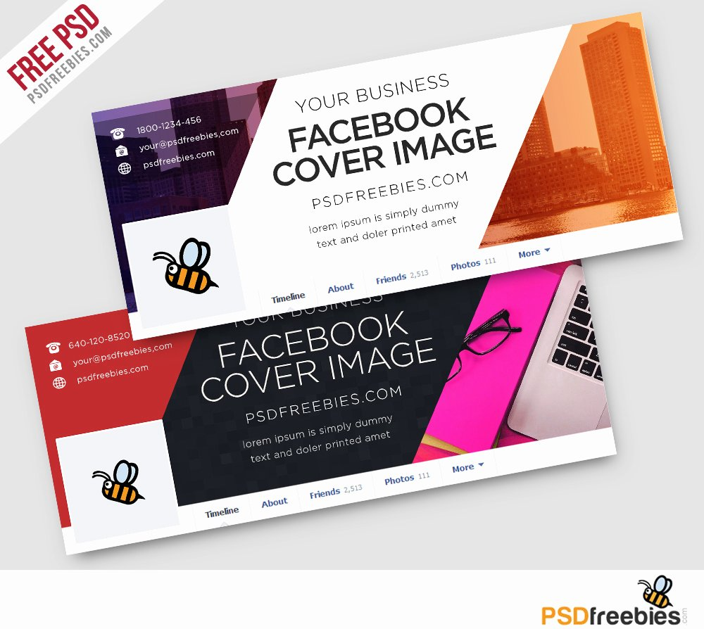 corporate covers free psd template