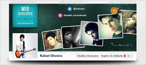 Facebook Cover Template Psd Fresh 17 Amazing Psd Timeline Cover Templates