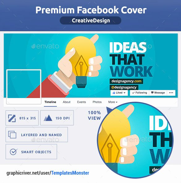 Facebook Cover Template Psd Fresh Psd Template – 8 Free Samples Examples format