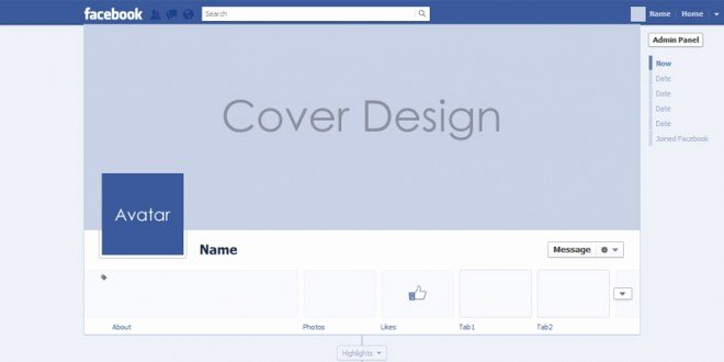 Facebook Cover Template Psd Inspirational All New Psd for Timeline Cover Mock Up 2013