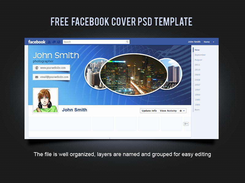 Facebook Cover Template Psd Lovely Free Cover Psd Template by Xara24 On Deviantart
