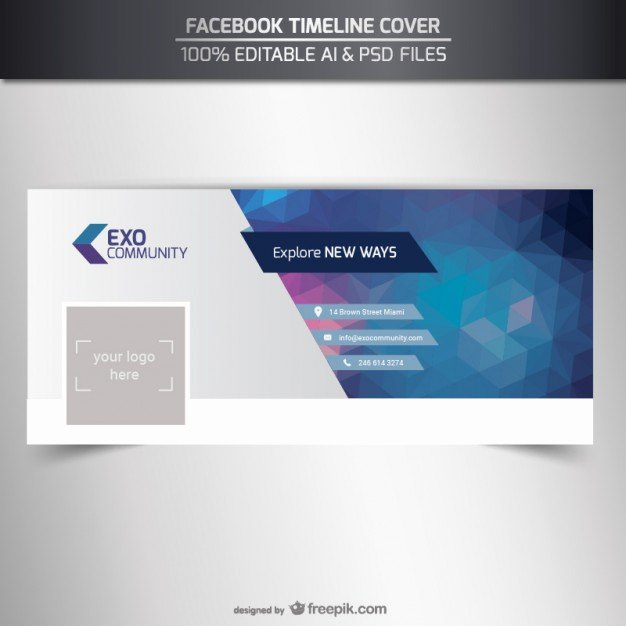 Facebook Cover Template Psd New Cover Vectors S and Psd Files