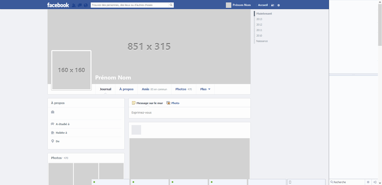 Facebook Template for Students Best Of Template by Nicolasmzrd On Deviantart