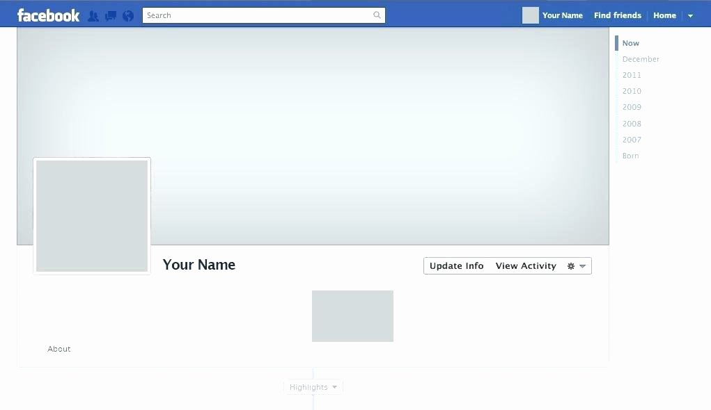 Facebook Template for Students Luxury Srmuniv
