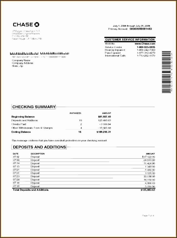 Fake Bank Statement Generator Inspirational 7 Account Statement Template Sampletemplatess